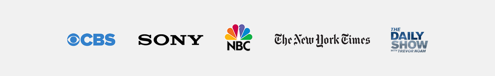 prosound is trusted by cbs, ony, nbc, the new york times, the daily show and more