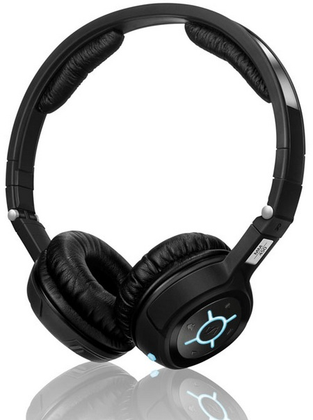 sennheiser mm400 collapsible headset with bluetooth listen talk capability pro sound. Black Bedroom Furniture Sets. Home Design Ideas