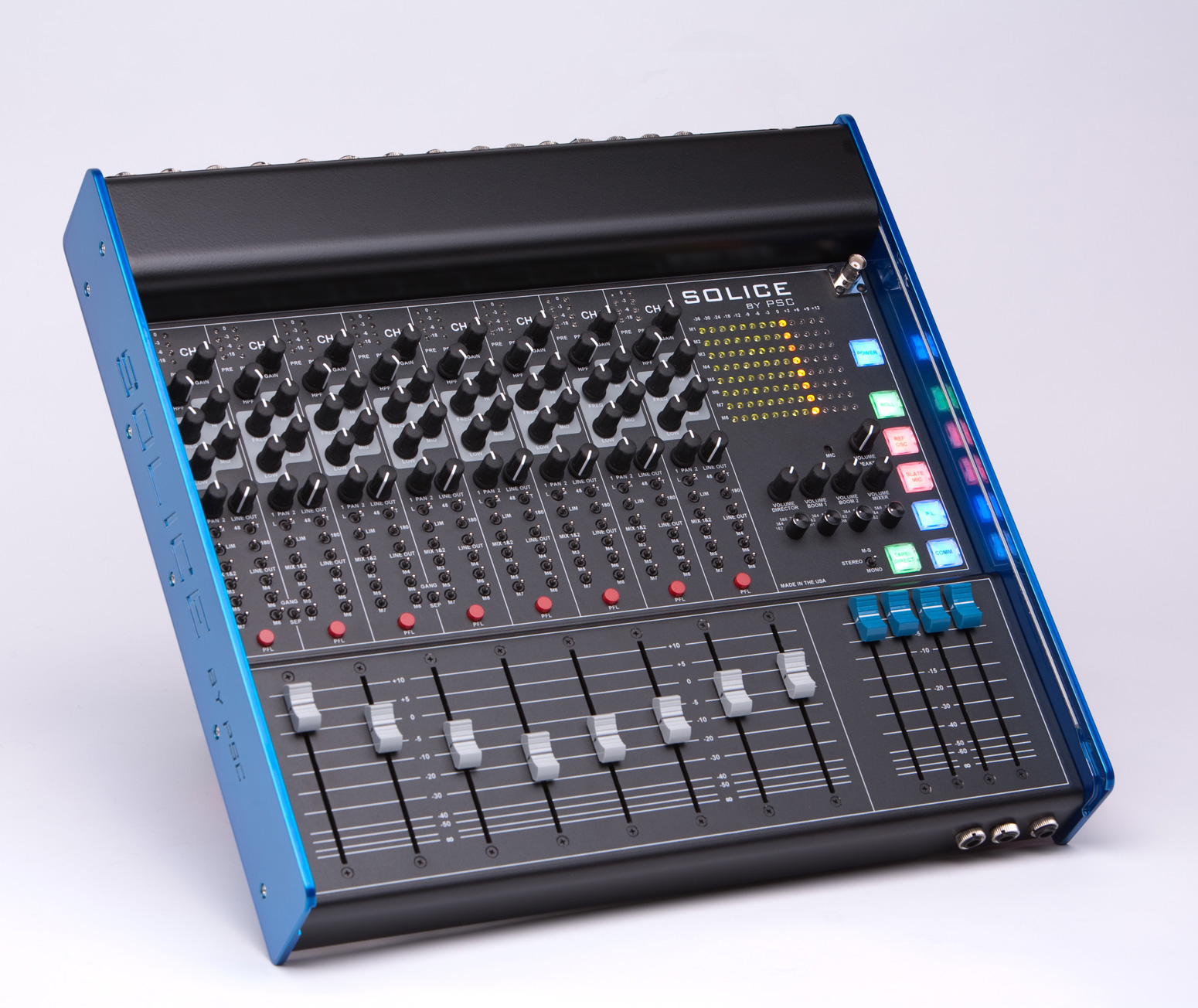 Psc Solice Solice 8 Channel Audio Mixer Pro Sound Com